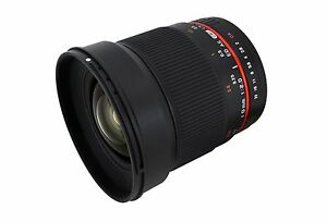 Rokinon 16mm F2.0 Ultra Wide Angle Lens for Micro Four Thirds - Model 16M-M43