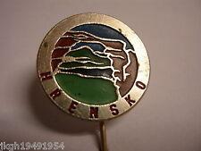 Hrensko Czech Republic stick pin Lapel Pin HP3015