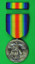 U.S. World War One WWI Victory Medal & Ribbon Bar - made in the USA WW1