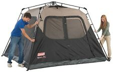 COLEMAN 6 PERSON INSTANT TENT CAMPING WATERPROOF WEATHERTEC CAMPING OUTDOOR NEW!
