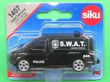 Euro Siku Super Serie 1407 VW T5 Police S.W.A.T.-Fahrzeug