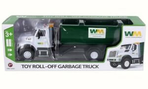 1:24 FIRST GEAR *WASTE MANAGEMENT* MACK GRANITE w/Tub Roll-Off Dumpster *NIB*
