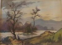 Robert Leslie Howey Signed original watercolour painting Tarn Hows Lake District