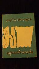 Pietro Consagra: Approssimativamente  Scheiwiller, 1977