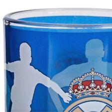 Real madrid taza vaso de vidrio azul Taroudant de vidrio primera división de fútbol