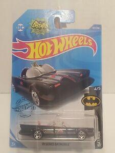 Hot Wheels * Batman * TV Series Batmobile * Black