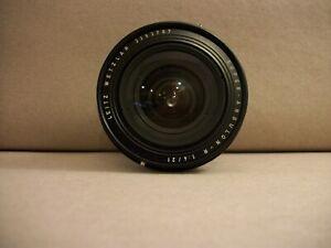 Vintage Leitz Wetzlar Super - Angulon - R 21mm f4 Lens