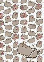 Pusheen wrapping paper (gift wrap) & tags - 245400