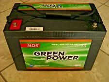 """BATTERIA AGM""""NDS"""" GREEN POWER X SERVIZI SCARICA LENTA CARAVAN / CAMPER & NAUTICA"""