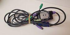 Aten cs-62a 4 piedi 2-Port / VGA / PS / 2 Tastiera e mouse KVM switch cavo (K)