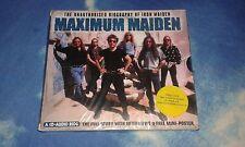 MAXIMUM MAIDEN (THE UNAUTHORISED BIOGRAPHY OF IRON MAIDEN ) UK CD SEALED