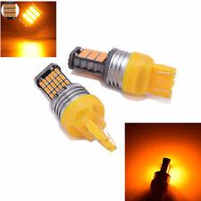 2pcs Car Turn Signal Parking Brake Light Reverse Light Bulbs T20 7443 7440 4014