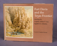 Fort Davis & the Texas Frontier - 58 Lee Paintings - Nice Texana Book + Bonus