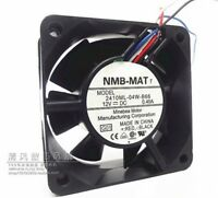 For 4line 6cm 0.40A 12V for NMB 2410ML-04W-B66 Cooling fan