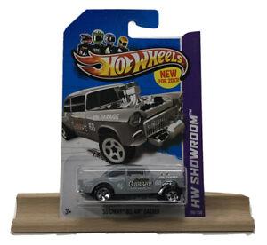 Hot Wheels 55 Chevy Bel Air Gasser Grey 2013 (1234)