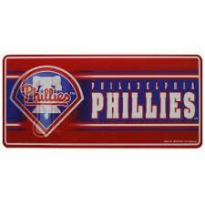 MLB Philadelphia Phillies 8'' Rectangular 3D Magnet (Set of 2)