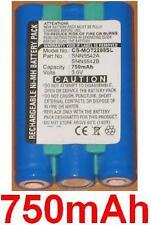 Batterie 750mAh type SNN5542A SNN5542B Pour Motorola T2282 V2282