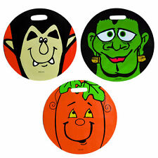 3 Pc Halloween Trick Or Treat Bags Party Loot Gift Treat Sweet Bag Children