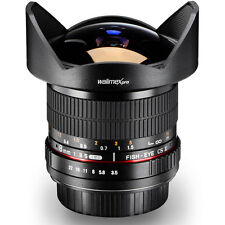Fisheye lente 8mm 3,5 F. Sony Alpha 100 200 230 300 380 500 580 33 77 55, etc