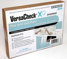 VersaCheck X9 Enterprise 2016 Finance & Check Creation Software 100 User License