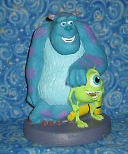 Disney Pixar Monsters Inc Plastic Coin Piggy Bank 2001 Mike Sully USA Seller