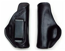 Turtlecreek Leather IWB Holster Raven Arms P-25 - Right Hand Pattern Fixed Clip