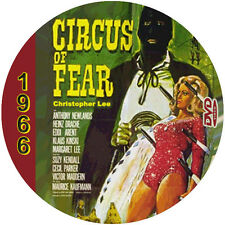 "Circus of Fear (1966) Classic Sci-fi and Horror NR CULT ""B"" Movie DVD"