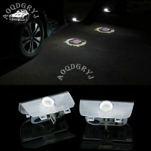 Car Laser LED Door Ghost Shadow Projector Lights 2X Fit For Honda Accord 2014-17