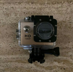 HD Camera, HD Sport Action Camera, Waterproof, Wide Angle Lens, 2in Screen