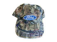 Licensed Ford Built Tough Truck Full Camo Hat Basball Cap Stetch L/XL size