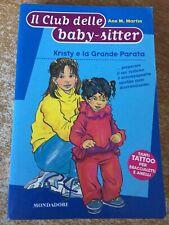 il club delle baby sitter Kristy e la grande parata Ann M. Martin 2002
