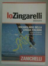 Vocabolario Dizionario Zingarelli Minore Italiano Nuovo Zanichelli 9788808153432