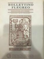 BOLLETTINO FLEGREO N° 0-OTTOBRE 1993 RIVISTA DI STORIA,ARTE E SCIENZE  CONSORZIO