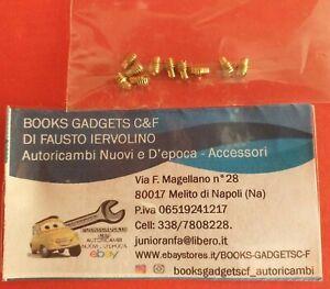 Compatibile con Fiat 500 Auto D'epoca Kit 10 pz Vite Galletto Deflettore