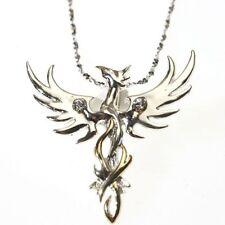SUN PHOENIX Sterling Silver 925  Pendant  by Anne Stokes COM04