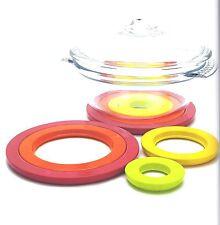 ZAK design Topfuntersetzer Circle 4er Set Hot Pop Bunt
