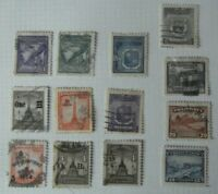 Q5. Lote de 13 sellos Fhilippines postage, Antiguos usados stamped
