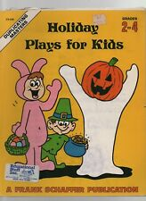 Holiday Plays for Kids - Duplicating Masters - SC - 1981 - Frank Schaffer Public