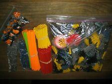 Lot of KNex Rods & Connectors Parts 660 +/- Replacement Pieces