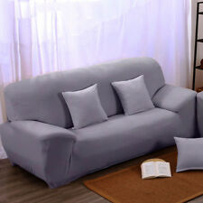 Stretch 3 Seater Sofa Couch Slipcover Covers Pillowcase Reusable Home Decor UDD