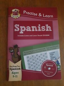 Practise & Learn: Spanish for Ages 9-11 - with vocab CD-ROM by CGP Books (Paper…