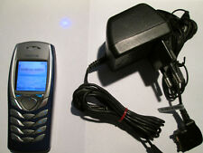 Nokia 6100 azul/plata, cargador simfrei Super aceptar Gebr Art. nº 316 X
