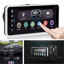"7"" HD 1080P Wifi Dual Lens Android GPS Navigation Car DVR Rearview Dash Camera"