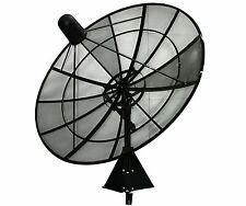 C-Band Prime Focus Mesh Satellite Dish (8-foot)