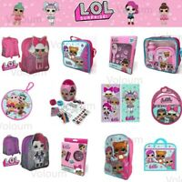 LOL Surprise School Bag Backpack L.O.L. Beauty Accessory Lunch Bag Stationery