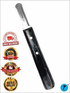 Pet Stripping Medium English Knife Hand Tool Grooming Cat/Dog Trim Cut & Style/
