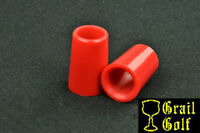 "NEW SUPER PREMIUM GOLF FERRULES .355 RED COLORED IRON .79"" LENGTH .540OD LOT"