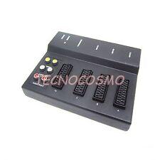 CENTRALINA SCART 21 PIN COMMUTATORE RCA SWITCH MULTIPRESA COLLEGAMENTO