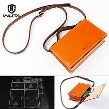 WUTA Women Shoulder Bag Handbag Acrylic Template Leather Pattern Set 949