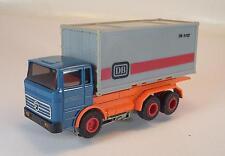 Slot Car Faller AMS Container LKW MB Führerhaus blau DB Container #158